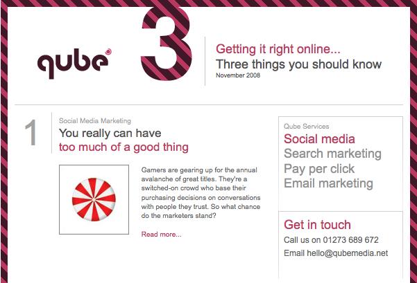 Qube Newsletter